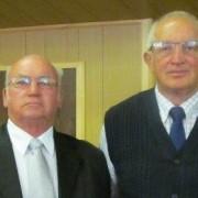 Ouderlinge Cas Coertze en Douw Steyn