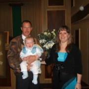 Pa Willem met Ziaan en Vroulief