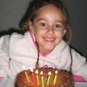 Michaela se 6e verjaarsdag